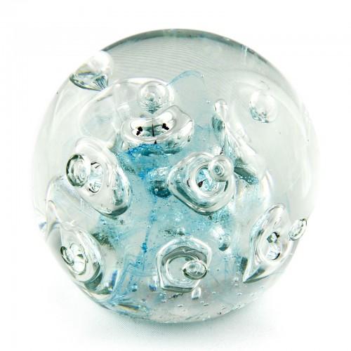 Briefbeschwerer Deko Glaskugel Traumkugel aus Kristallglas Paperweight 206