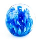 Briefbeschwerer Deko Glaskugel Traumkugel aus Kristallglas Paperweight 204