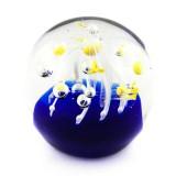 Briefbeschwerer Deko Glaskugel Traumkugel aus Kristallglas Paperweight 203