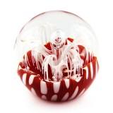 Briefbeschwerer Deko Glaskugel Traumkugel aus Kristallglas Paperweight 202