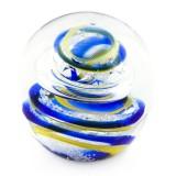 Briefbeschwerer Deko Glaskugel Traumkugel aus Kristallglas Paperweight 200