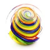 Briefbeschwerer Deko Glaskugel Traumkugel aus Kristallglas Paperweight 198