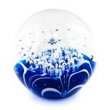 Briefbeschwerer Deko Glaskugel Traumkugel aus Kristallglas Paperweight 193