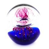 Briefbeschwerer Deko Glaskugel Traumkugel aus Kristallglas Paperweight 182