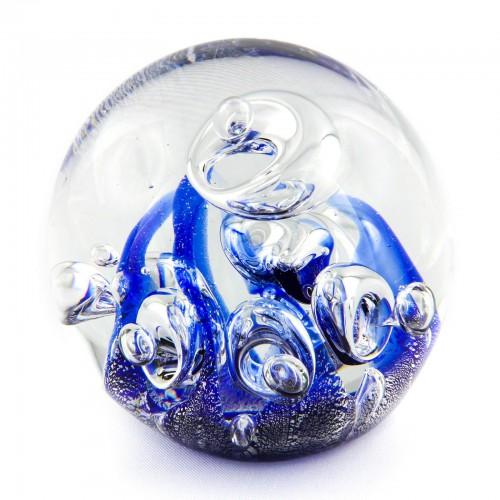 Briefbeschwerer Deko Glaskugel Traumkugel aus Kristallglas Paperweight 180