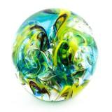 Briefbeschwerer Deko Glaskugel Traumkugel aus Kristallglas Paperweight 179
