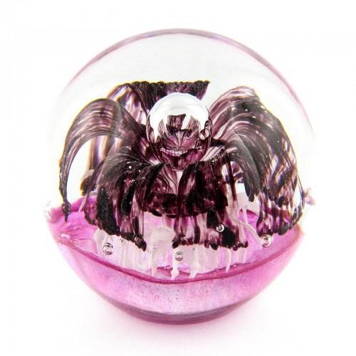 Briefbeschwerer Deko Glaskugel Traumkugel aus Kristallglas Paperweight 175