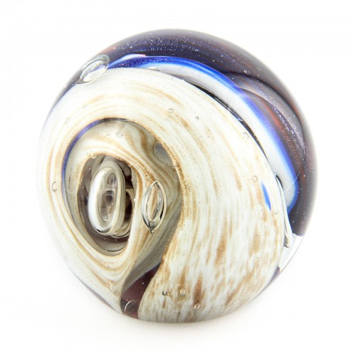 Briefbeschwerer Deko Glaskugel Traumkugel aus Kristallglas Paperweight 156