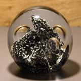 Briefbeschwerer Deko Glaskugel Traumkugel aus Kristallglas Paperweight 146