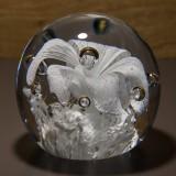 Briefbeschwerer Deko Glaskugel Traumkugel aus Kristallglas Paperweight 114