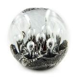 Briefbeschwerer Deko Glaskugel Traumkugel aus Kristallglas Paperweight 93