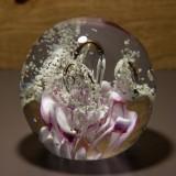 Briefbeschwerer Deko Glaskugel Traumkugel aus Kristallglas Paperweight 65