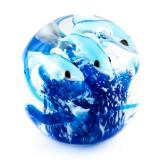 Briefbeschwerer Deko Glaskugel Traumkugel aus Kristallglas Paperweight 61