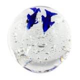 Briefbeschwerer Deko Glaskugel Traumkugel aus Kristallglas Paperweight 53