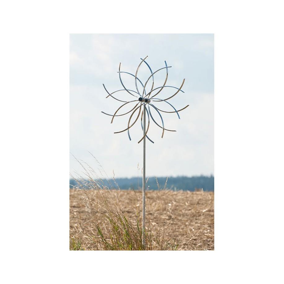 "Edelstahl Windspiel ""Blume"""