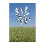 "Edelstahl Windspiel ""Sun Flower"""