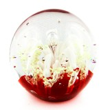Briefbeschwerer,Paperweight,Deko Glaskugel,Traumkugel aus Kristallglas-231