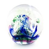 Briefbeschwerer Deko Glaskugel Paperweight Traumkugel aus Kristallglas 230