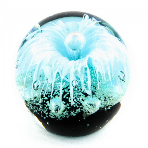 Briefbeschwerer Deko Glaskugel Traumkugel aus Kristallglas Paperweight 226