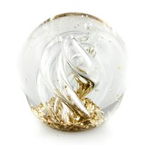 Briefbeschwerer Deko Glaskugel Traumkugel aus Kristallglas Paperweight 225