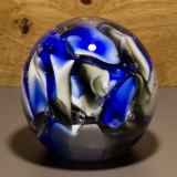 Briefbeschwerer Deko Glaskugel Traumkugel aus Kristallglas Paperweight 220
