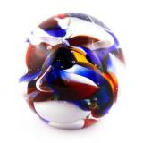 Briefbeschwerer Deko Glaskugel Traumkugel aus Kristallglas Paperweight 219