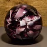 Briefbeschwerer Deko Glaskugel Traumkugel aus Kristallglas Paperweight 218