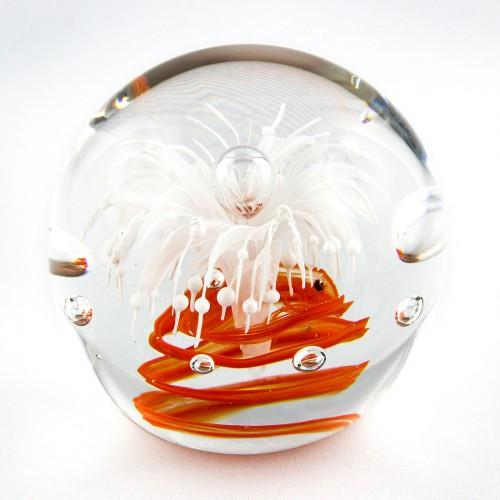Briefbeschwerer Deko Glaskugel Traumkugel aus Kristallglas Paperweight 217