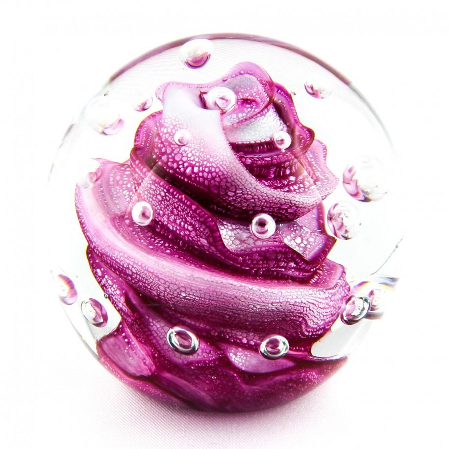 Briefbeschwerer Deko Glaskugel Traumkugel aus Kristallglas Paperweight 216