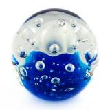 Briefbeschwerer Deko Glaskugel Traumkugel aus Kristallglas Paperweight 214