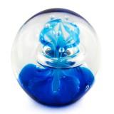 Briefbeschwerer Deko Glaskugel Traumkugel aus Kristallglas Paperweight 212