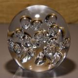 Briefbeschwerer Deko Glaskugel Traumkugel aus Kristallglas Paperweight 210